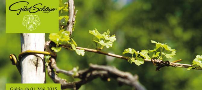 Weinproben in der Saison