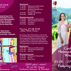 Heimat- und Weinfest in Cochem
